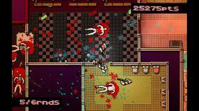 Hotline Miami minner litt om de eldre GTA-spillene i utseende. (Bilde: Hotline Miami/Steam)