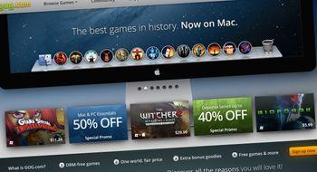 Retroportalen GOG.com er lansert på Mac