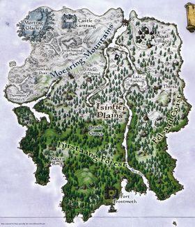 Slik så Solstheim ut i Morrowind-utvidelsespakken.