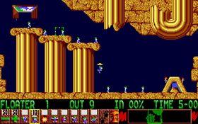 Lemmings er blant spillene som opprinnelig ble utviklet for Amiga.