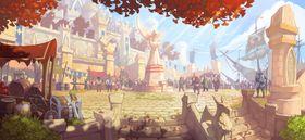 Konseptbilde fra Might & Magic Raiders.