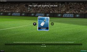 Dette var en av de fire utfordringene som var lagt inn i denne tidlige utgaven av spillet.