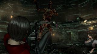 Resident Evil 6: Kaster seg på QTE-bølgen.