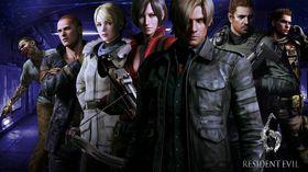 Det var nok av spillbare figurer i Resident Evil 6.