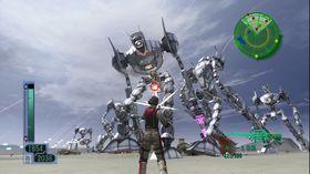 Skjermbilete frå Earth Defense Force 2017 til Xbox 360.