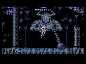 Spillet kom til Sega som The Legend of Galahad.