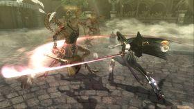 Actionspillet Bayonetta.