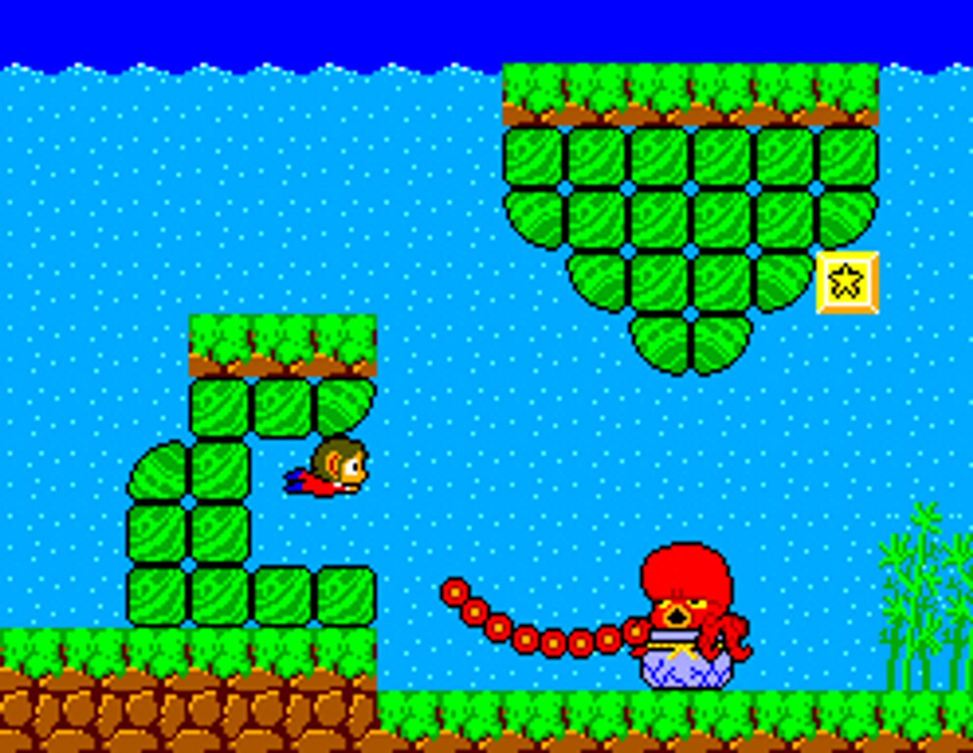 Spillet Alex Kidd in Miracle World er kanskje det mest populære med Alex Kidd. Figuren var lenge en uoffisiell maskot for Sega.