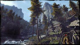 Natur er en naturlig del av den ville vesten (pun intended).