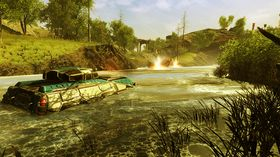 Spillet foregår både på havet, landjorden og i luften.
