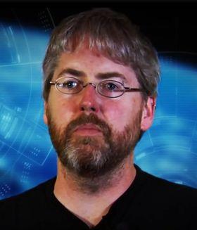 David Brevik, leder for Gazillion Entertainment og utviklingen av Marvel Heroes.