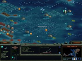 Man kan også bygge basene sine på havet.