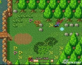 Secrret of Mana til Super Nintendo.