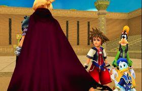 Final Fantasy- og Disney-figurer i fri utfoldelse, og ikke minst sammen.