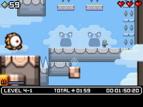 Mutant Mudds (PC og 3DS).