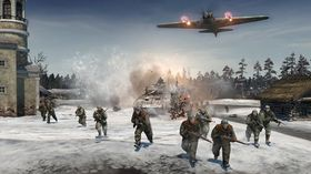 Kald og hard vinter i Company of Heroes 2.