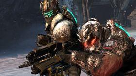Dead Space 3 lar deg slakte necromorphs med en kamerat.