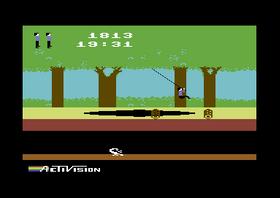 Commodore 64-versjonen av Pitfall!