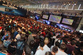 Det er ofte populære e-sport-aktiviteter i forbindelse med Gamescom. (foto: offisielt pressebilde)