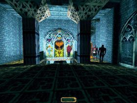 Skjermbilde fra det første Thief-spillet.