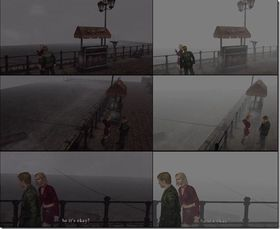 Dette bildet viser tydelig forskjellen mellom PlayStation 2-utgaven og HD Collection-utgaven.