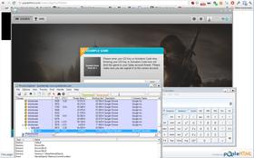 Her ser vi at Chrome starter Uplay, som igjen kjører i gang Calc.exe. (Skjermbilde: Ove Ragnar Oddløkken/Gamer.no)