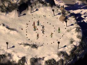 Snow Mountain er et av de nye områdene i spillet.