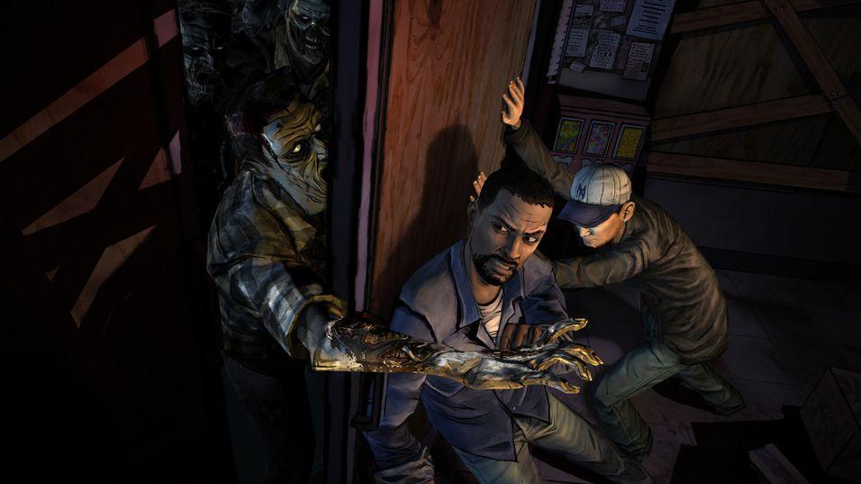 The Walking Dead-spillene er blant de som er fjernet fra App Store.