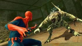 Her hadde Spider-Man sikkert sagt ett eller annet vittig om amfibier.