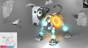 Vent nå litt… en Portal-hund?