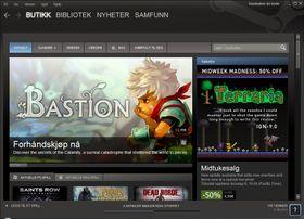 Steam er en uhyre populær digital tjeneste.