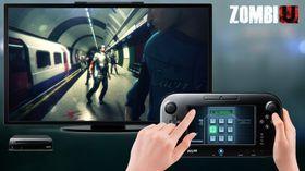 I ZombiU må du taste på skjermen for å opne dører.