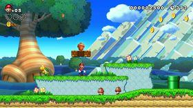 Så skarp har aldri Mario vore i kantane før.