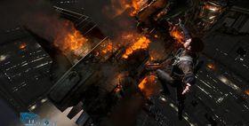 Hoppe fra et brennende romskip til et annet; hverdagskost for dusørjegere.