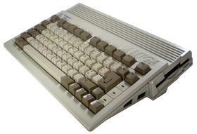 Amiga 600 var en stilig liten sak. Bilde: Alexander Jones (Wikipedia).