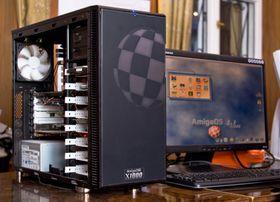 Dagens Amiga: AmigaOne X-1000. Bilde: Adam Kliczek / Wikipedia (CC-BY-SA-3.0).