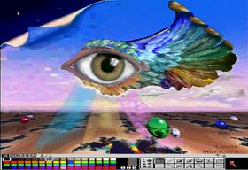 Grafikk i HAM-modus imponerte, men det var en upraktisk modus som ble lite brukt i spill.