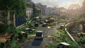 Store forlatte landskap preger verden i The Last of Us.