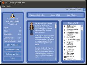 Linux Tycoon (PC, Mac og, ja, Linux).