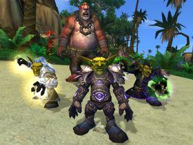 Goblins, en av de to nye spillbare rasene.