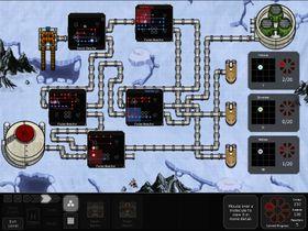 Flere reaktorer jobber sammen (ja, du plasserer selv ut reaktorene og rørledningene).