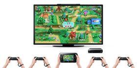 Fem spillere i aksjon i Nintendo Land.