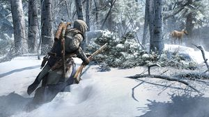 Assassin's Creed III bruser med fjærene