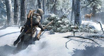 Assassin's Creed III bruser med fjærene