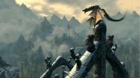 Dragene i Skyrim dukker sannsynligvis ikke opp i The Elder Scrolls Online.
