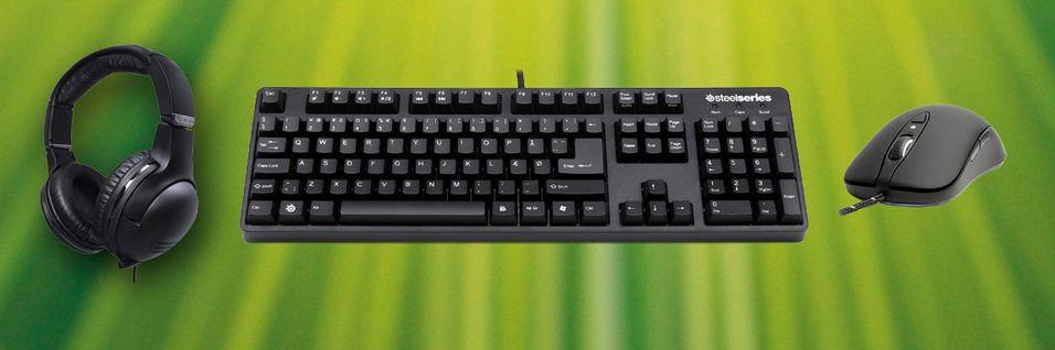 Vant du av tastatur, mus og headset?