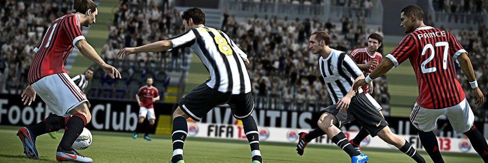 INTERVJU: – FIFA 13 vil gi mer variasjon i banespillet