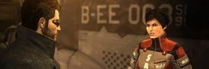 Deus Ex-studio dobles i størrelse