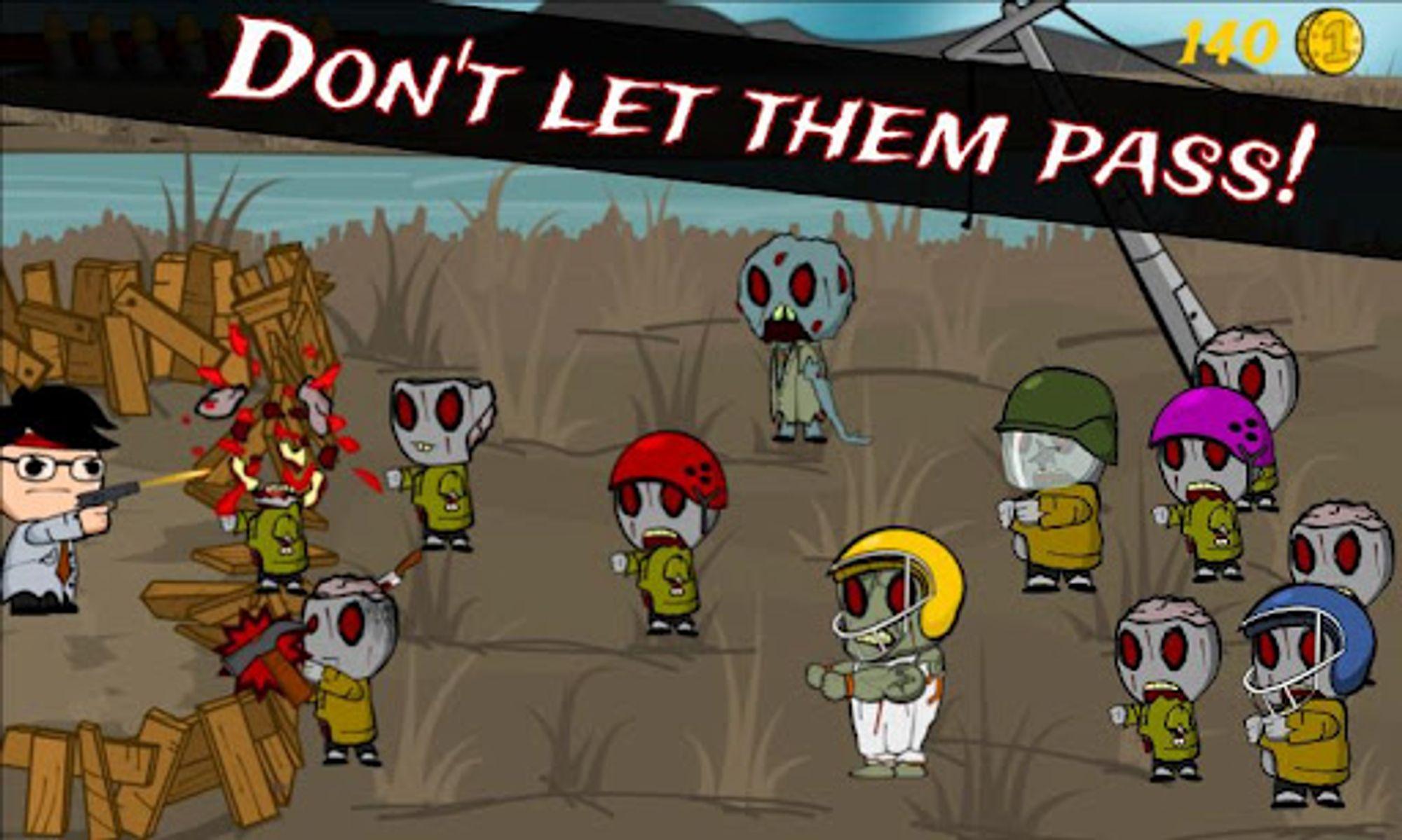Mobilspill går aldri tomme for zombier.