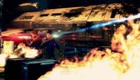 Ild har den tredje hovedrollen i Star Trek.